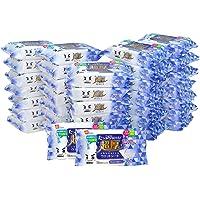 【Amazon.co.jp 限定】レック 水の激落ち 超厚 フローリング ウェットシート 20枚入×36個 (720枚…