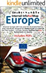 Interrail InfoRailMap Europe 2019: Discover the whole of Europe with InfoRailMap - Specifically designed for Interrail...