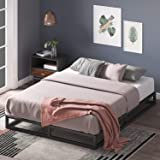 Zinus Joesph Queen Bed Frame 15cm Modern Bed - Metal Frame Wood Slats