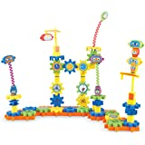Learning Resources LER9225 Gears! Gears! Gears! Robot Factory Building Set (79 Piece),Multicolor