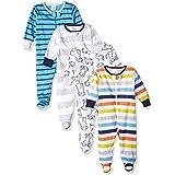 Onesies Brand Baby Boys' 4-Pack Sleep 'N Play