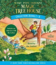 Magic Tree House Collection: Books 1-8: Dinosaurs Before Dark, The Knight at Dawn, Mummies in the Morning, Pirates Past Noon