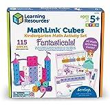 Learning Resources MathLink Cubes Kindergarten Math Activity Set: Fantasticals! Math Activity Set, Math Manipulative, Early M
