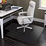 "HYNAWIN Office Chair Mat for Hardwood Floors - 36""x47"",Heavy Duty Clear Wood Floor Protector PVC Transparent"