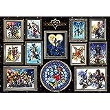 1000ピース ジグソーパズル ディズニー キングダム ハーツ アート集 (51x73.5cm)