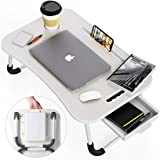 Lap Desk, Foldable Desk Bed Tray, Standing desk, Laptop Desk, TV Tray Tables For Eating, Bed Table, Bed Desk, Breakfast Tray,