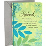 Hallmark Romantic Father's Day Card for Husband (Sweet and Good Man)