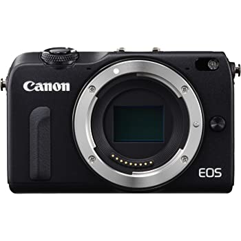Canon ミラーレス一眼カメラ EOS M2 ボディ(ブラック) EOSM2BK-BODY