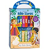 Little Library: Bible Stories (12 Board Books & 3 Downloadable Apps!)