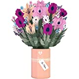 Lovepop Mother's Day Flower Bouquet - Pop Up Flowers, Mothers Day Card, Card for Mom, 3D Flowers, Happy Mother's Day, Pop Up