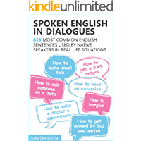 Spoken English in Dialogues: 833 common English sentences us…