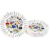 """Party_Planner Friends Themed Party Decorations Party Supplies Friends tv Show Merchandise (Cake Plates 7"""" 16 Count)"""