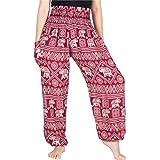 Lofbaz Women's Elephant Yoga Harem Pants Plus