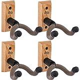 4 X String Swing CC01KOAK Hardwood Home & Studio Guitar Hanger