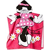 Jay Franco Hooded Poncho, Minnie Mouse Classic, Hooded Towel