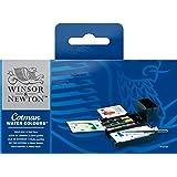 Winsor & Newton Cotman Water Colour Paint Field Box Set, Half Pans, Set of 12
