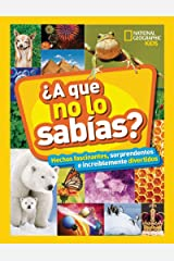 ¿A que no lo sabías? (NG KIDS) (Spanish Edition) Kindle Edition