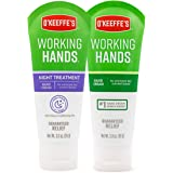 O'Keeffe's Working Hands, Hand Cream and Night Treatment, 3 Ounce Tube, 2 Count