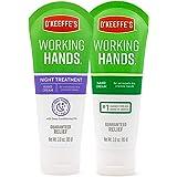 O'Keeffe's 103002 Hand Cream, 3 Oz, 2 count, White