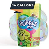 CrazyBubbles Giant Bubbles Mix - Makes 14 Gallons of Bubbles for Kids - All Natural Vegan Ingredients are Non-Toxic and Easy