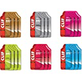 Clif Bar Energy Gels (Non-GMO/Fast Carbs/Fast Fuel for Cycling and Running), Variety Pack, 1.20 Ounce (Pack of 18)
