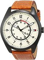 Tommy Hilfiger Men 1791372 Year-Round Analog Quartz Brown Watch