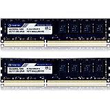 Timetec Hynix IC 16GB Kit (2x8GB) DDR3L 1600MHz PC3L-12800 Non ECC Unbuffered 1.35V/1.5V CL11 2Rx8 Dual Rank 240 Pin UDIMM De