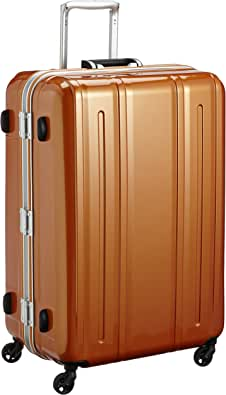 [エバウィン] 軽量スーツケース Be Light 静音キャスター 94L 74 cm 4.5kg オレンジ