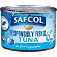 Safcol Australia SAFCOL Tuna in Springwater 425g Can, 12 Pack, 1 x 5.10 kg