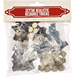 Scythe 80 Realistic Resources Game Pieces