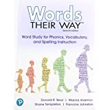 Words Their Way: Word Study for Phonics, Vocabulary and Spelling Instruction with Words Their Way Digital and Enhanced Pearso