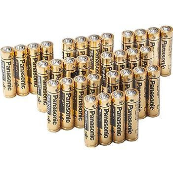 パナソニック 単4形アルカリ乾電池 32本パック 【フラストレーションフリーパッケージ(FFP) モデル】 LR03RJA/32S