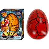 JA-RU Easter Egg Toy XXL Magic Grow Dragon Hatching Eggs Toy (1 Assorted Egg) Easter Party Toy for Boys and Girls Kids Party