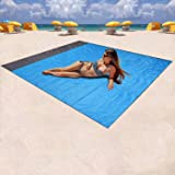 Mumu Sugar Sand Free Beach mat, Large Oversized Waterproof Quick Drying Ripstop Nylon Compact Outdoor Picnic Blanket Best San