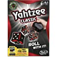 YAHTZEE Classic Game - Risk It All - Roll the Dice to Win - Highest Score Wins - Casino Die - Adults, Family Board Games and
