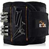 ELK Magnetic Wristband Small Armband Tool Organizer with Heavy Duty Strong Magnets for Holding Screws, Tools, Nails, Drill Bi