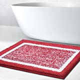 Bathroom Rug Mat, Ultra Soft and Water Absorbent Bath Rug, Bath Carpet, Machine Wash/Dry, for Tub, Shower, and Bath Room, Mic