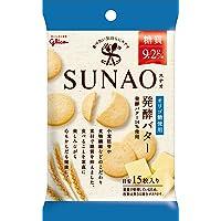 江崎グリコ (糖質50%オフ) SUNAO(スナオ) 発酵バター 31g×10個 低糖質(ロカボ) お菓子 クッキー(ビ…