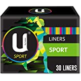 U BY KOTEX Liners U by Kotex Sport Liners (Pack of 30), Pack of 30 0.062 kilograms