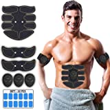 ESERT Muscle Toner Abs Stimulator - Portable Muscle Trainer - Ultimate Abs Stimulator for Men Women - Workout Belt Body Train