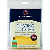 Guardsman Wood Furniture Dusting Cloths - 5 Pre-Treated Cloth - Captures 2x The Dust of a Regular Cloth, Specially Treated, N