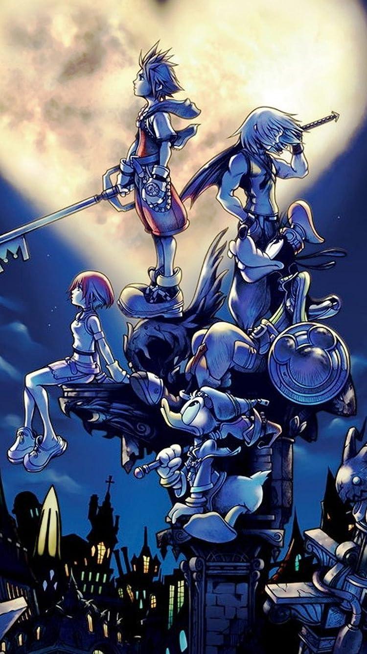 ディズニー Kingdom Hearts Iphone8 7 6s 6 750 1334 壁紙 画像28791