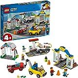 レゴ(LEGO) シティ 3台のクルマつき! ガソリンスタンド 60232 ブロック おもちゃ 男の子 車