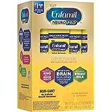 Enfamil NeuroPro Baby Formula Milk Powder, 14 Single Serve Packets (17.6 Gram Each) - MFGM, Omega 3 DHA, Dual Prebiotics, Iro