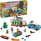 LEGO Creator 31108 Caravan Family Holiday Building Kit (766 Pieces)