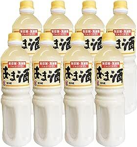 かねこみそ 無添加・無加糖 米糀あま酒 1000ml×8本【ペットボトル甘酒】