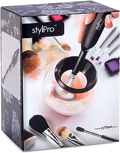 StylPro(スタイルプロ) StylPro スタイルプロ メイクブラシ専用 ウォッシャー&ドライヤー 単品 10mlクリーナー2個付