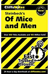 CliffsNotes on Steinbeck's Of Mice and Men (Cliffsnotes Literature Guides) Kindle Edition