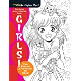 The Manga Artist's Coloring Book: Girls!: Fun Female Characters to Color