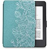 WALNEW Protective Case for Kindle Paperwhite - The Thinnest and Lightest Slim Smart Cover with Auto Wake/Sleep for All Kindle